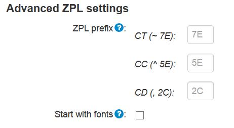 ZPL (Zebra Printer Language)