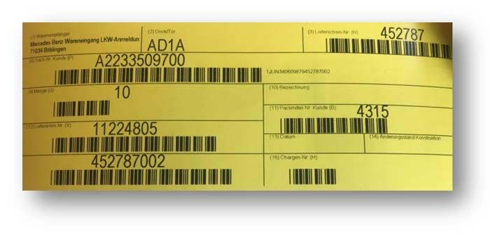 RFID Daimler example